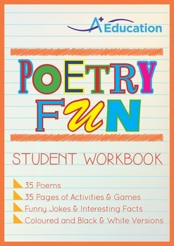 Poetry Fun - 35 Poems; Student Workbook