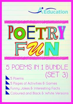 Poetry Fun - 5 Poems in 1 Bundle (Set 3)