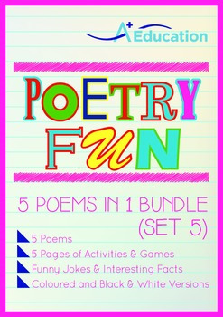 Poetry Fun - 5 Poems in 1 Bundle (Set 5)