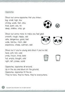 Poetry Fun - 5 Poems in 1 Bundle (Set 6)
