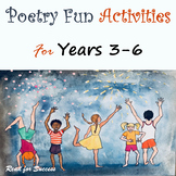 Poetry Fun Activities for Years 3-6