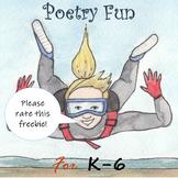 Poetry Fun for K-6 Freebie