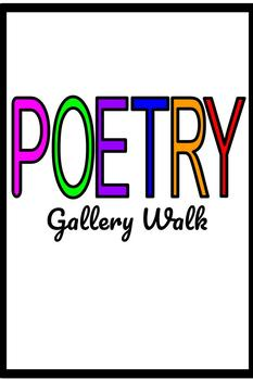 Poetry Gallery Walk