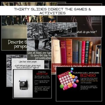 Poetry Games & Activities