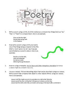 Poetry: Genre Studies