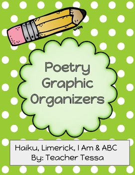 Poetry Graphic Organizers