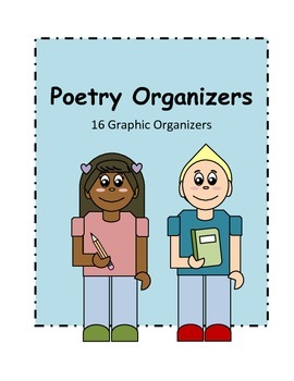 Poetry Graphic Organizers- National Poetry Month
