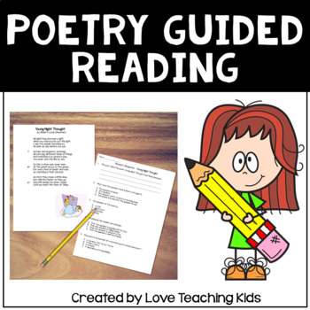 Poetry Guided Reading Lessons with Reader's Responses