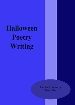 Poetry: Halloween Poetry Writing