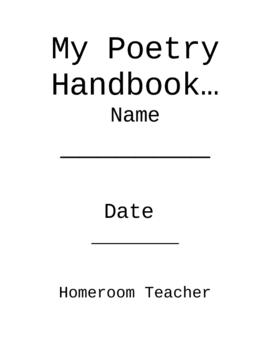 Poetry Handbook for Students