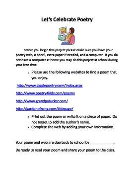 poem homework