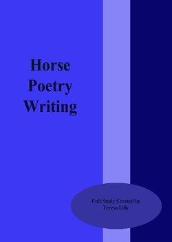 Poetry: Horse Poetry Writing