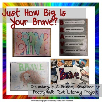 """Paired Text Lesson, Malala Yousafzai Nonfiction Speech and """"Brave"""" Song"""