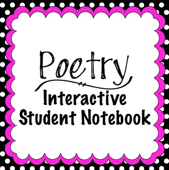 Poetry Interactive Student Notebook