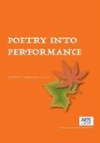 Poetry Into Performance, dance and movement, Kindergarten/Grade 1, Autumn