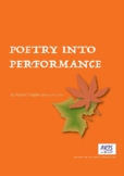 Poetry Into Performance, dance and movement, Kindergarten/