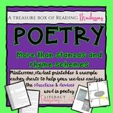 Poetry:  It's More Than Stanzas and Rhymes--A Collection o