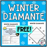 January Diamante Poem