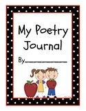 Poetry Journal Cover Pages