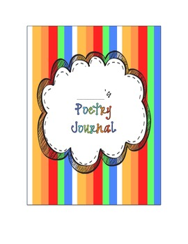 Poetry Journal Cover & Table of Contents {FREEBIE}