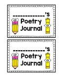 Poetry Journal Covers