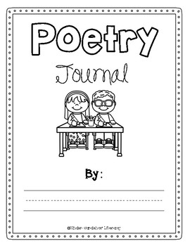 Sight Words Poetry Journal