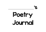 Poetry Journal Template