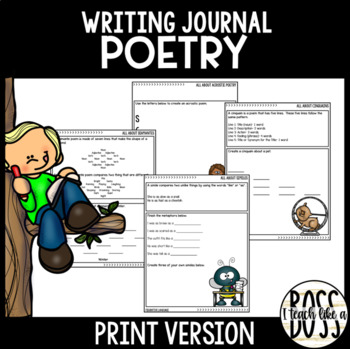 Poetry Journal Writing Prompts