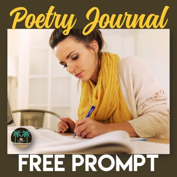Poetry Journal Prompt for Secondary Students (Free)