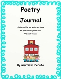 Poetry Journal in Spanish-Diario de poesía de grado 3rd