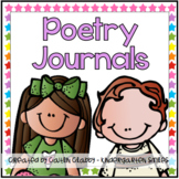 Poetry: Journals/ Notebooks for the Year