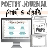 Poetry Book for Beginners - 19 Types of Poems!