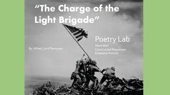"Poetry Lab: ""The Charge of the Light Brigade"" by Alfred, L"
