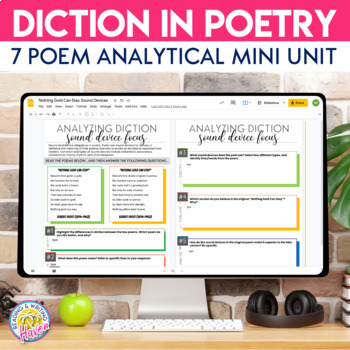Poetry Lesson: Analyzing Diction through Close Reading