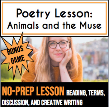 The Muse: High School Poetry Lesson and Bonus Game!