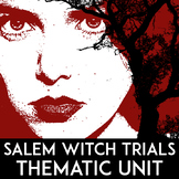 Salem Witch Trials Unit | Puritan Primary Source Activity | Colonial America