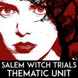 Salem Witch Trials Unit | Puritan Primary Source Activity