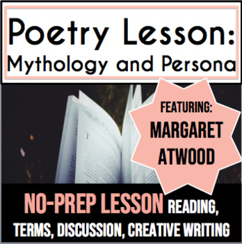 Persona Poetry: High School Poetry Lesson and Creative Writing