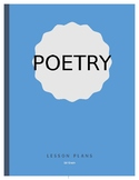 Poetry Lesson Plans -1st Grade