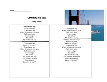Poetry Lesson: Rhyming & Visualizing