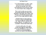 Poetry Lesson- Road Not Taken