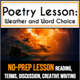 Diction: High School Poetry Lesson and Creative Writing