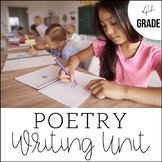 Poetry Lessons | 4th Grade Writing | Unit 6