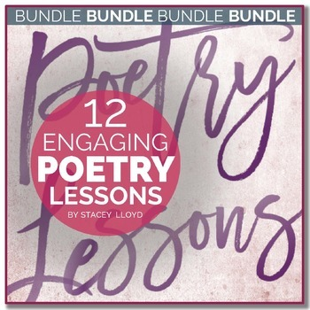 Poetry Lessons BUNDLE