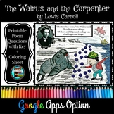 Poetry, Lewis Carroll, Walrus and the Carpenter Questions