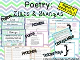 Poetry: Lines & Stanzas~ 3.RL.5