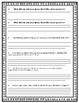 Poetry Lit Circles Worksheet and Questionnaire
