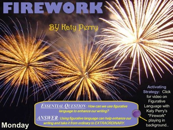 "Poetry: Lyrics Analysis of ""Firework"" by Katy Perry"