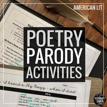 Poetry Parodies: Read & Imitate 5 Classic Poems! (American Literature Edition)
