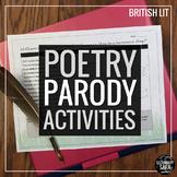 Poetry Parodies: Read & Imitate 5 Classic Poems! (British Literature)